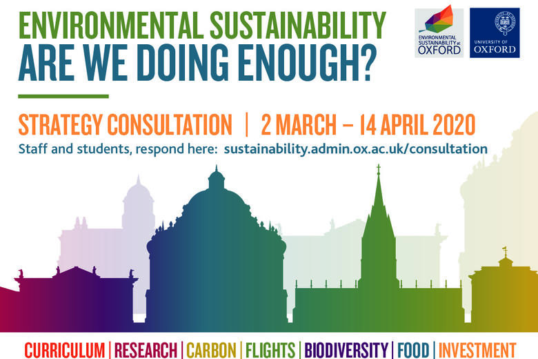 sustainability strategy consultation digital screen poster