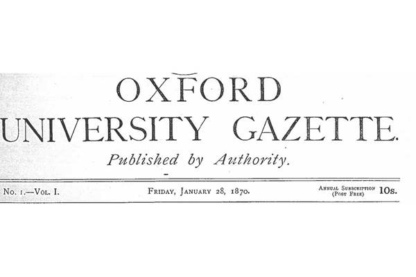 gazette  first issue